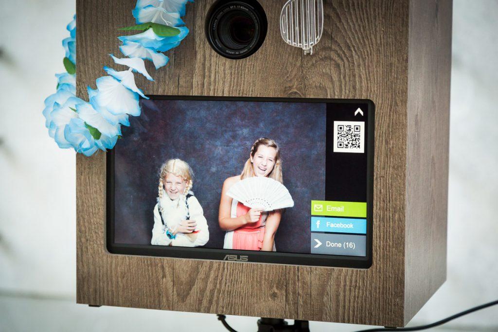 Hochzeit Photobooth mit Online Galerie