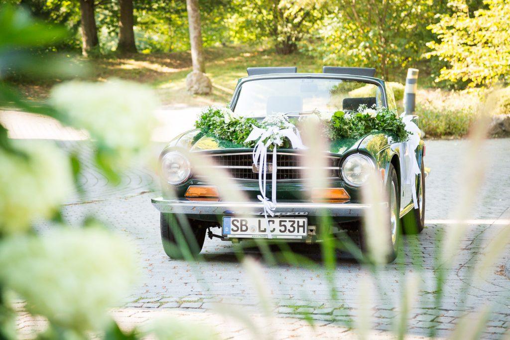 Hochzeitsauto Villa Rothschild