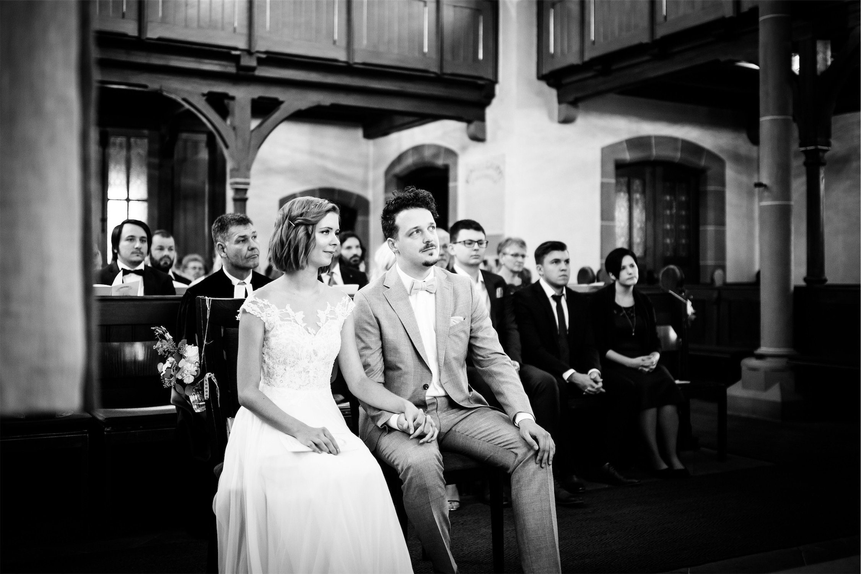 Hochzeit in der Kirche Miltenberg
