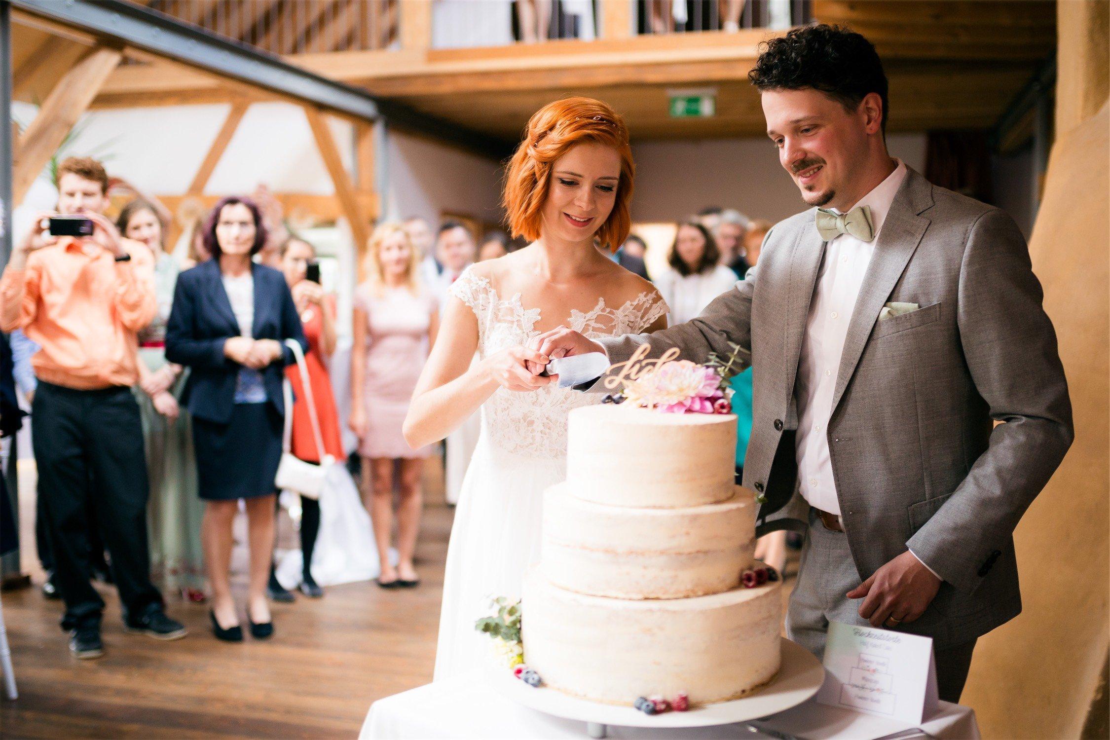 Hochzeitstorte im Alten Obstkeller in Mönchberg