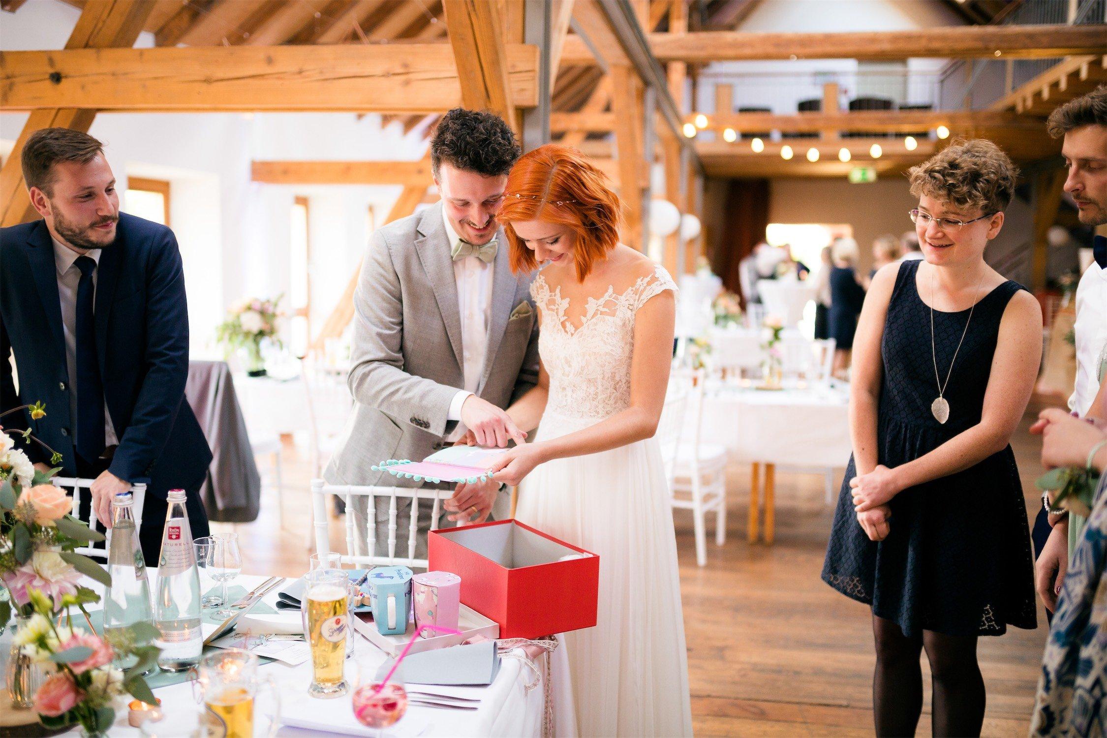 Hochzeitspaar im Alten Obstkeller