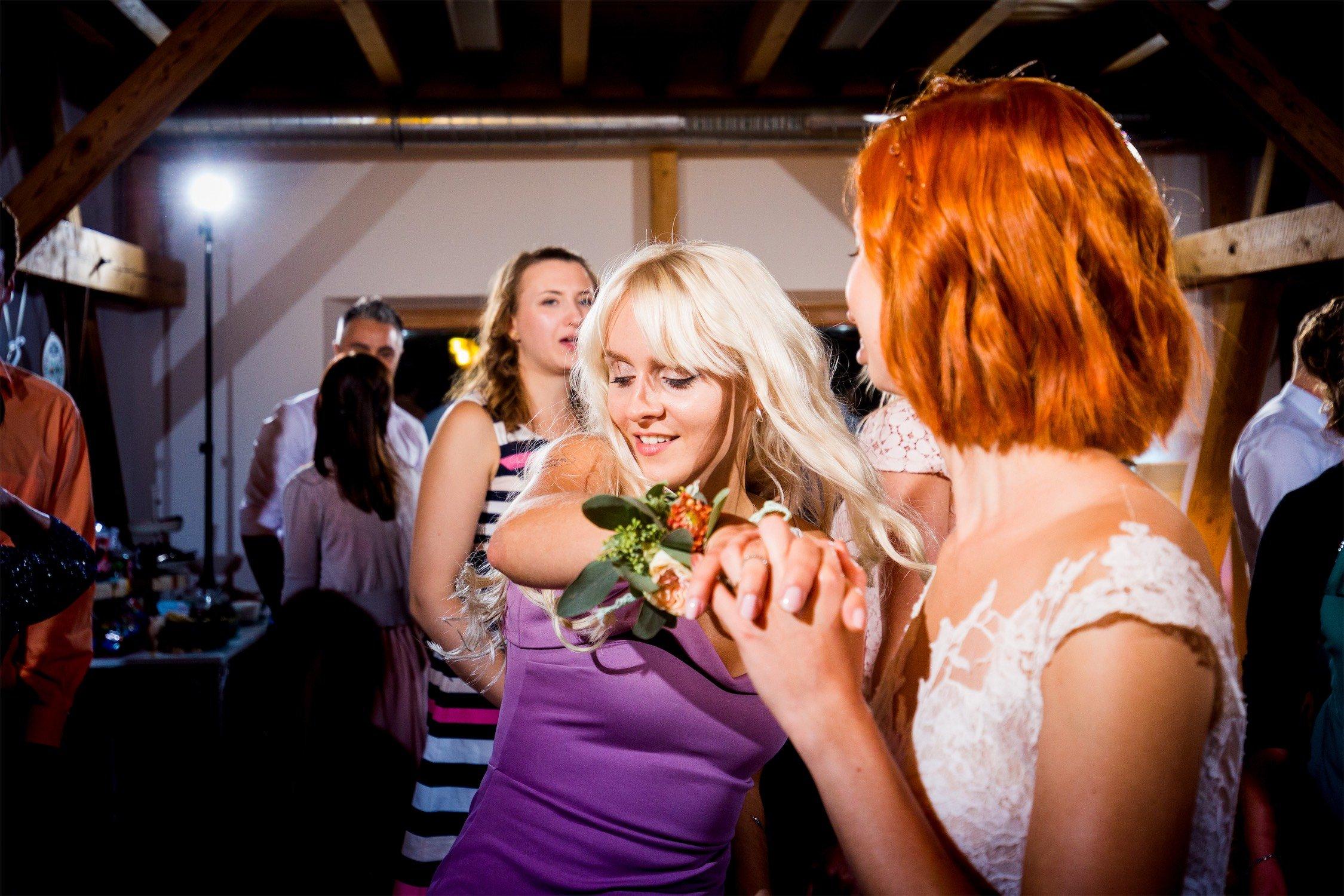 Hochzeitsparty im Alten Obstkeller in Mönchberg