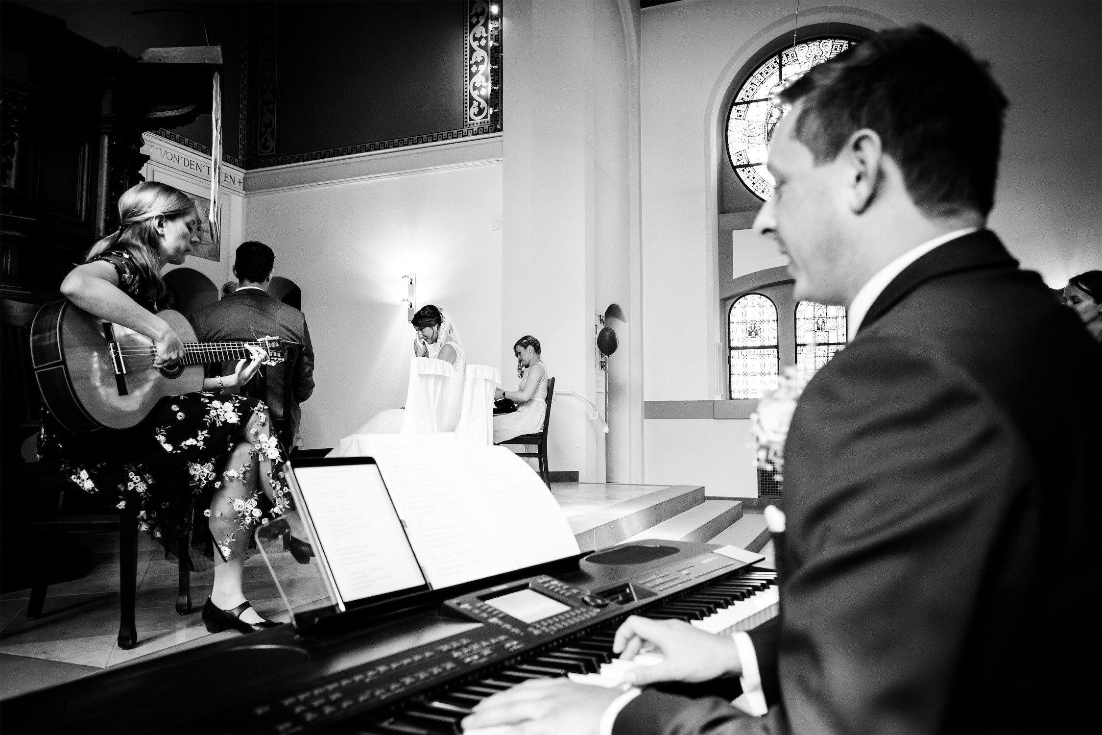 Trauung in der Erlöserkirche in Bad Homburg