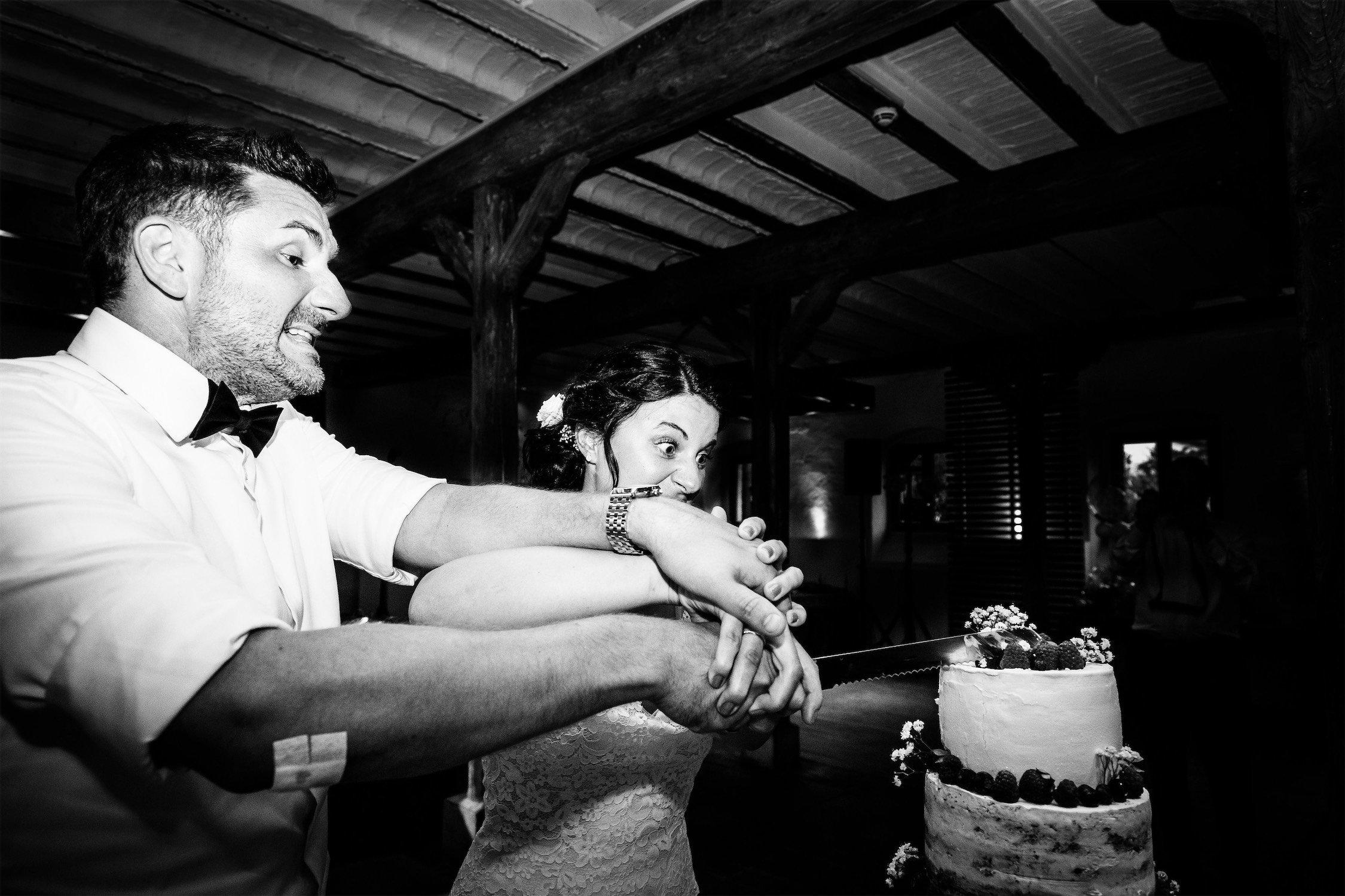Hochzeitstorte im Hofgut Hohenstein