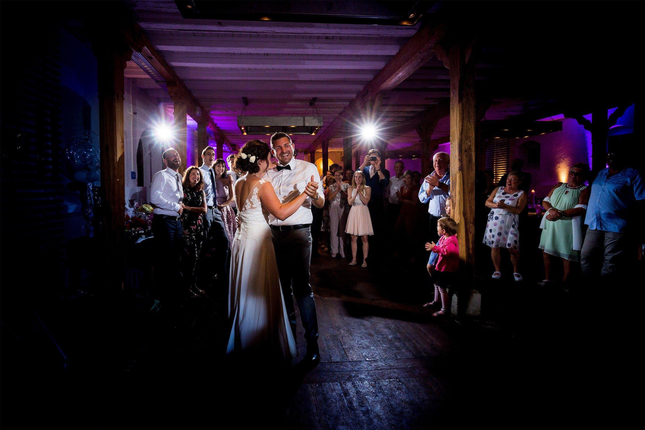 Hochzeitstanz im Hofgut Hohenstein