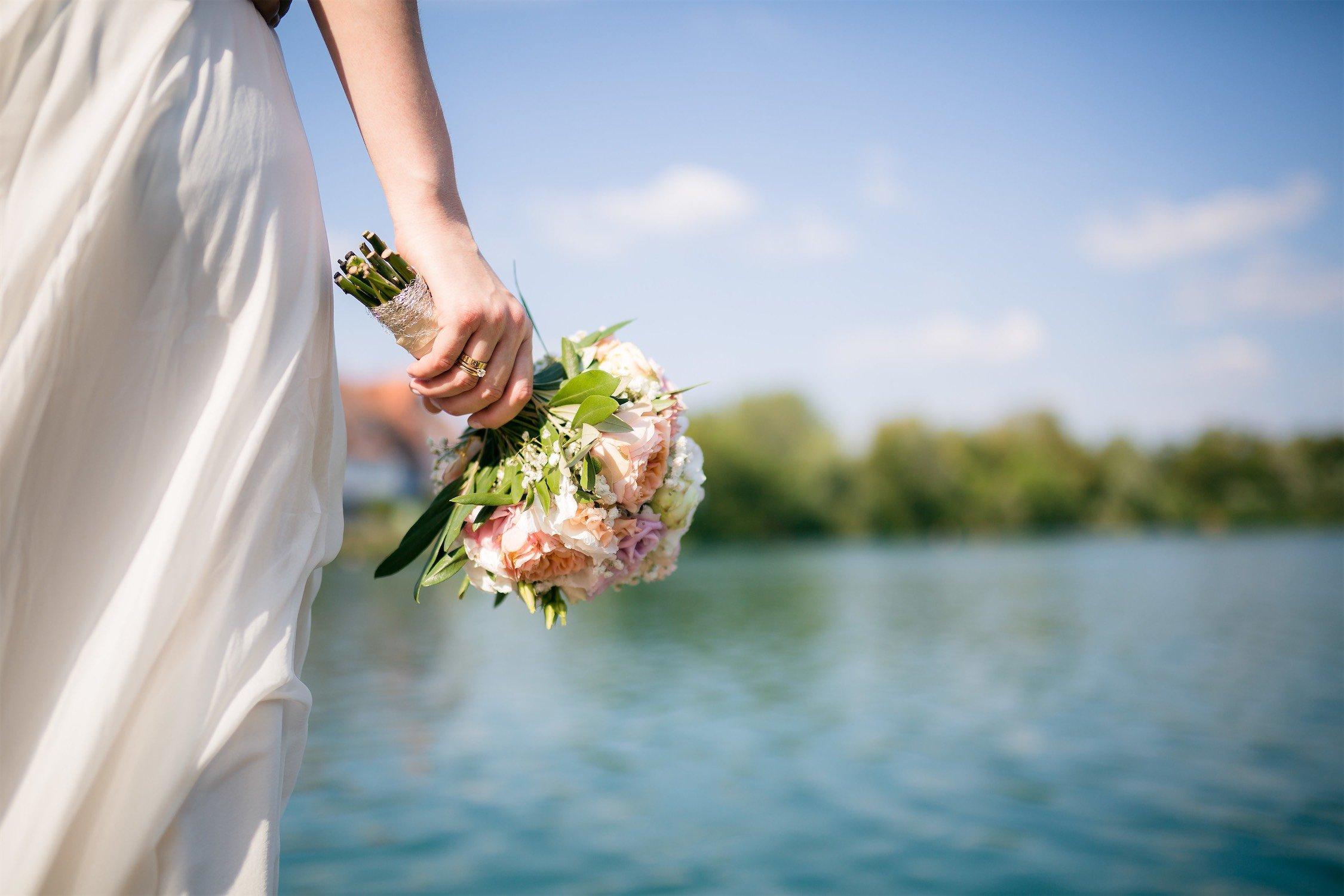 Hochzeitsfotos am Seehotel Niedernberg